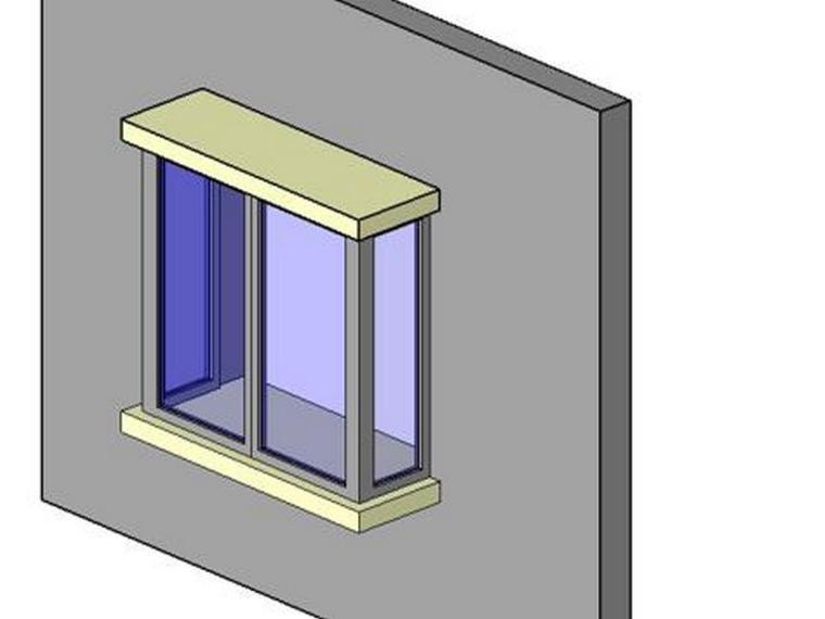 revit教程七窗簇的自定义(二)
