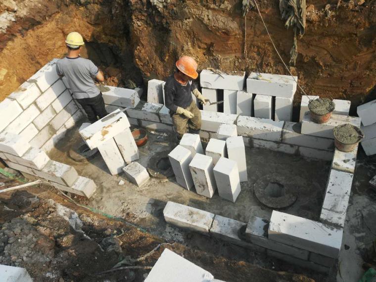 砖胎膜及基础防水分项工程施工技术交底(29页图文丰富)