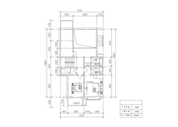 40种多层住宅户型图(CAD)