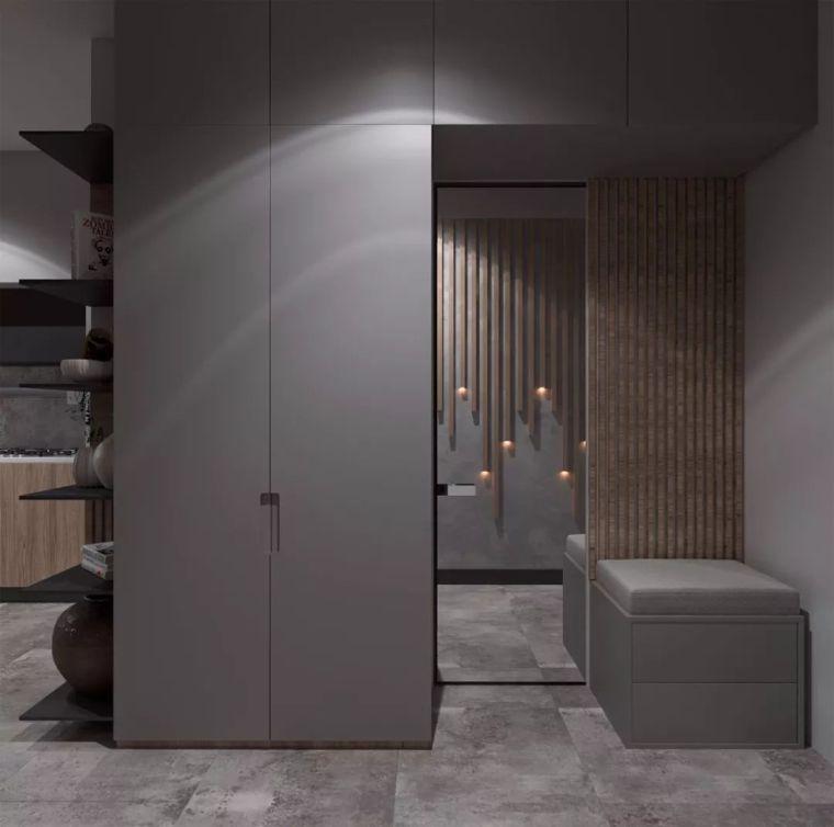 在38平米的微型公寓内,享受豪华居住感 | Tyoma Atsone-欧模网