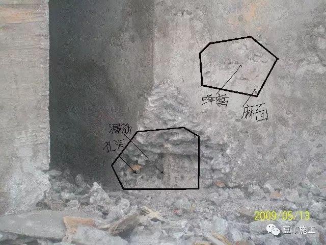 混凝土浇筑缺陷处理方法汇总,以后混凝土出问题不要急赤白脸了