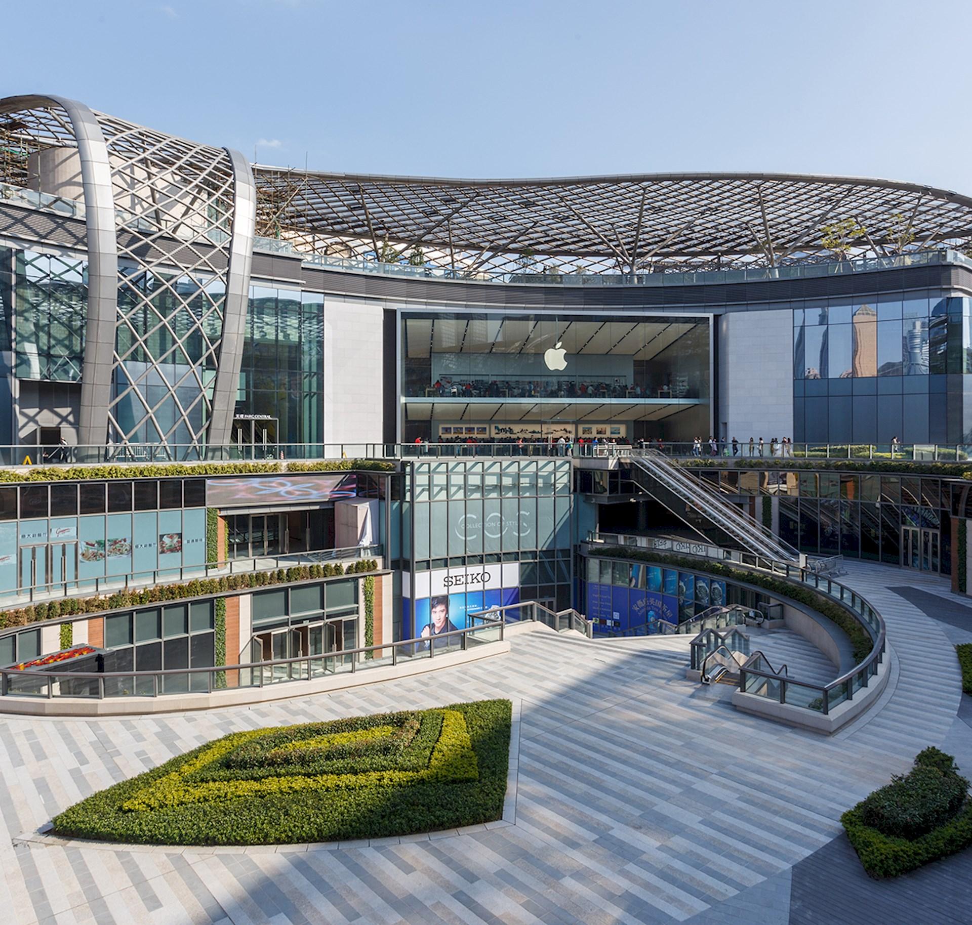 [广州]Benoy贝诺-广州天河广场室内设计效果图+高清摄影丨34P