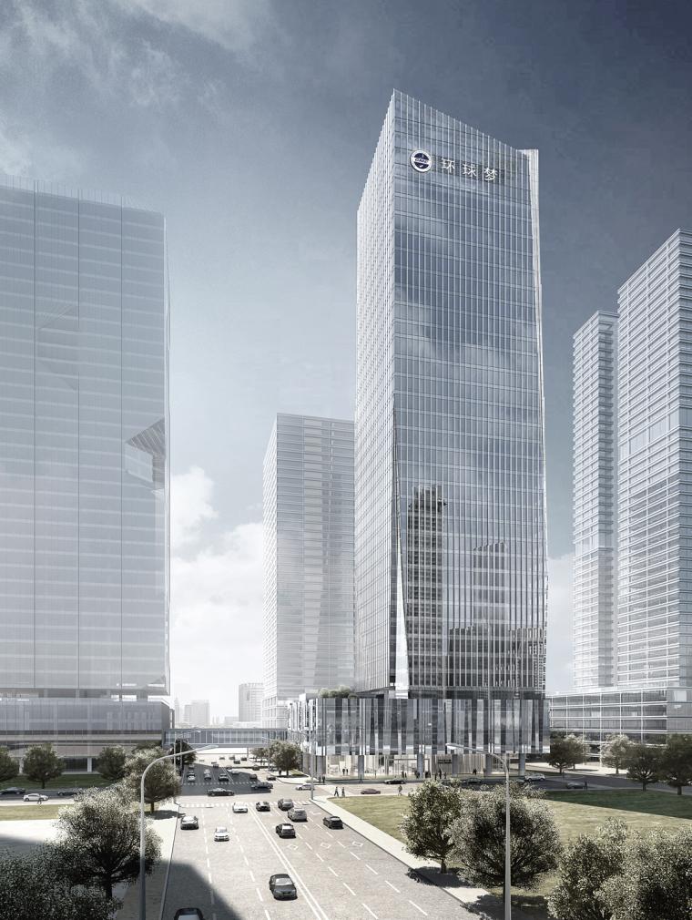 IF.DESIGN羽果:世界电商硅谷 --- 环球梦大厦办公设计