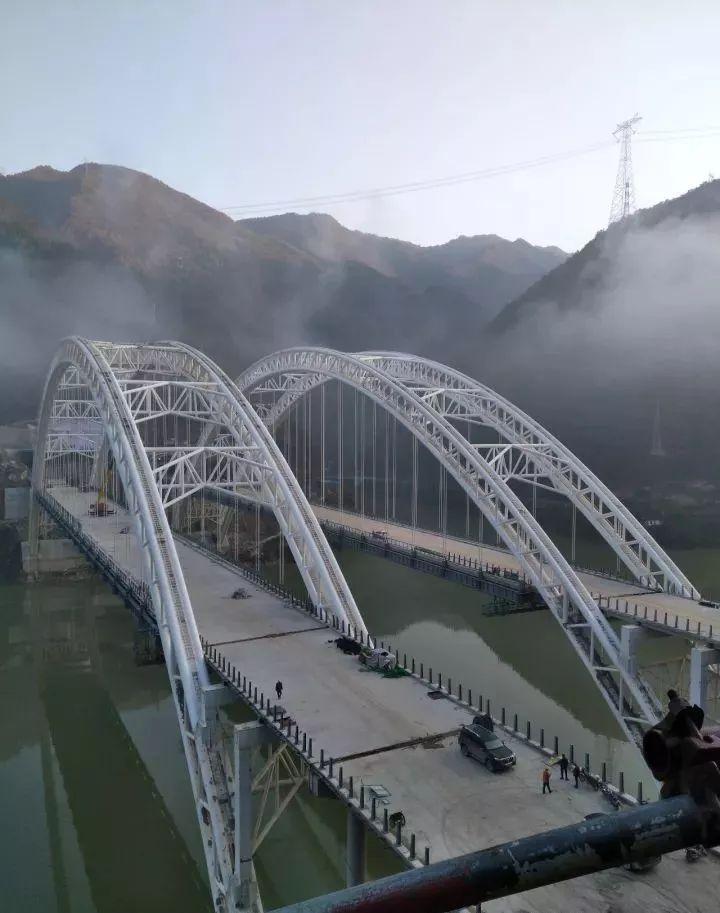 桥梁监测预警应用——钢管混凝土拱桥三维激光扫描