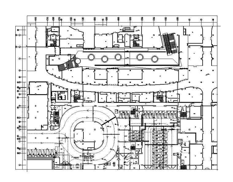 天津广场停车场及地下交通控制系统弱电施工图