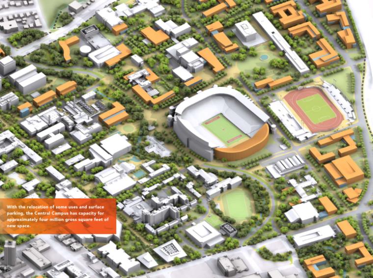 [美国]奥斯汀校园景观总体规划方案文本