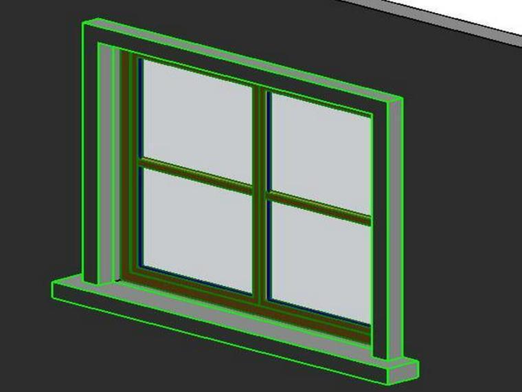 revit教程六窗簇的自定义