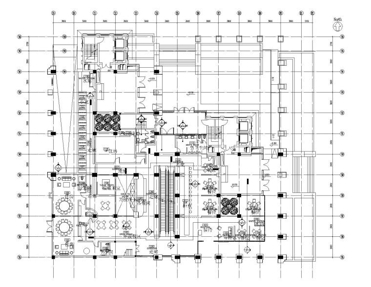 北京中国新理念餐厅室内装修CAD施工图(附效果图)