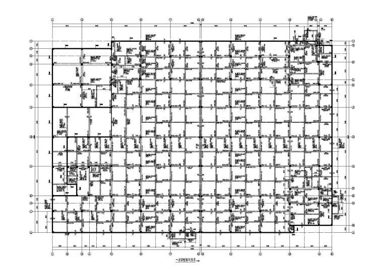 [宁波]5层框架结构厂房上部结构施工图(2015)
