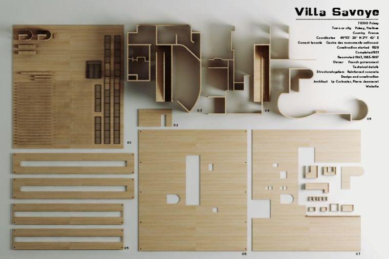 建筑系馆模型质感的效果图教程(附40套SU模型&文本资料)