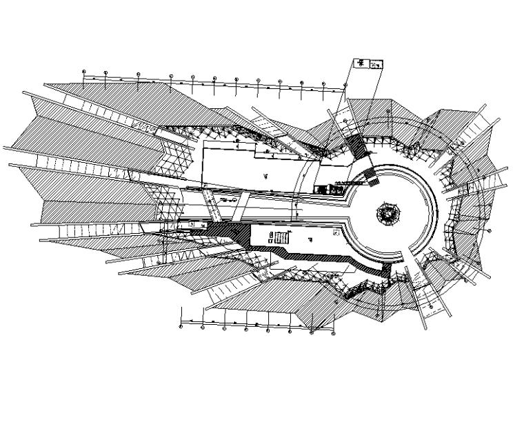 内蒙古博物馆弱电智能电气施工图(预算、清单)