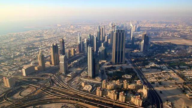迪拜360°旋转大楼,首栋4D建筑,BIM效果预览