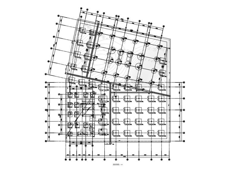 [深圳]框剪结构厂房+宿舍楼+地下室结构施工图(2015)