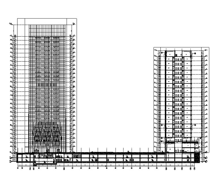 深圳18万平工业园城市更新项目全专业施工图