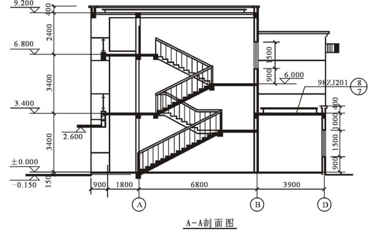 建筑施工图的识图(94页)