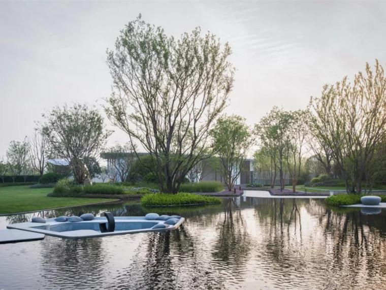 南京江与示范区景观