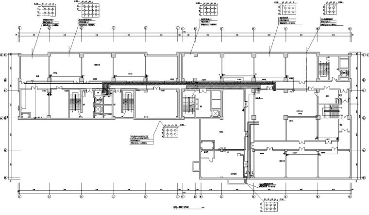 高层商业综合楼全套电气施工图