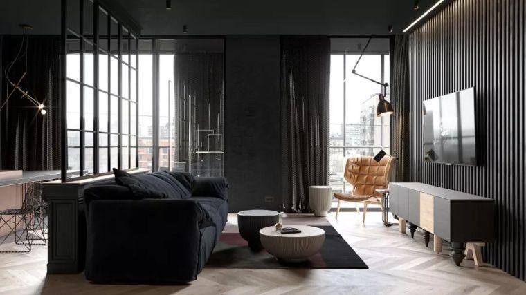 小户型·43㎡单身公寓装出大宅格调!