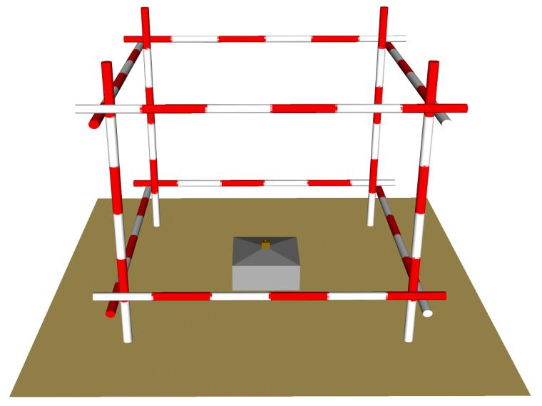 框架剪力墙结构高层住宅项目施工测量方案(含深基坑)