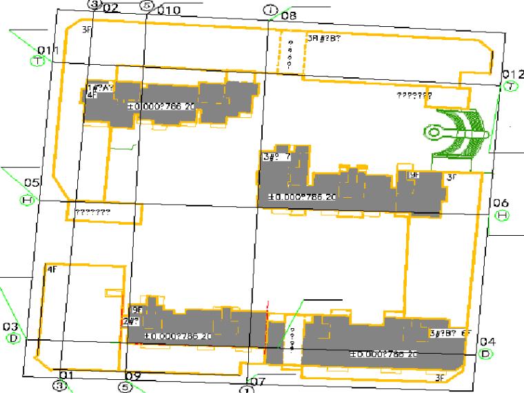 都市广场测量放线施工方案(含审批表)