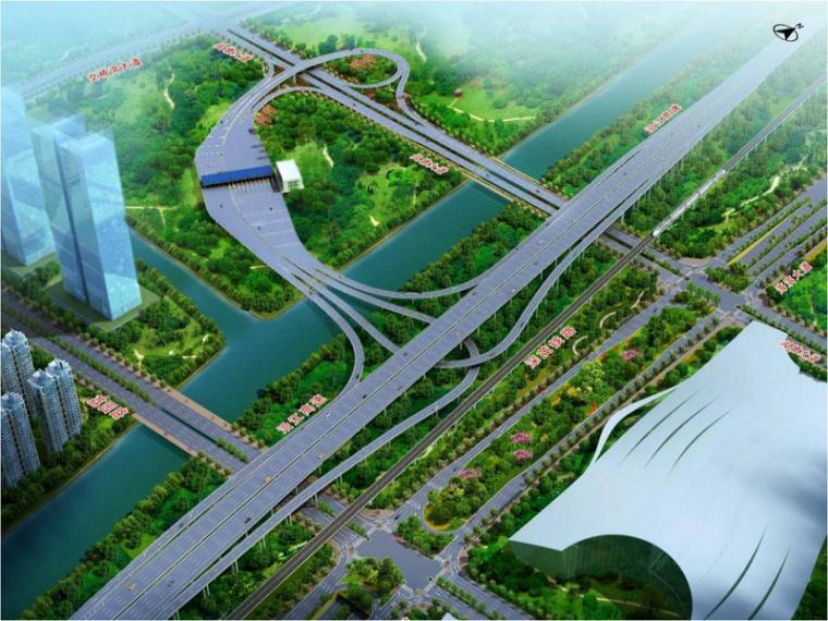 东莞长安至深圳南山高速公路二期路基桥涵工程总体测量方案