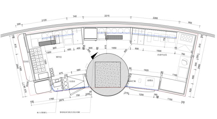 [上海]奶茶店-快乐柠檬上海正大广场店丨效果表现+CAD施工图