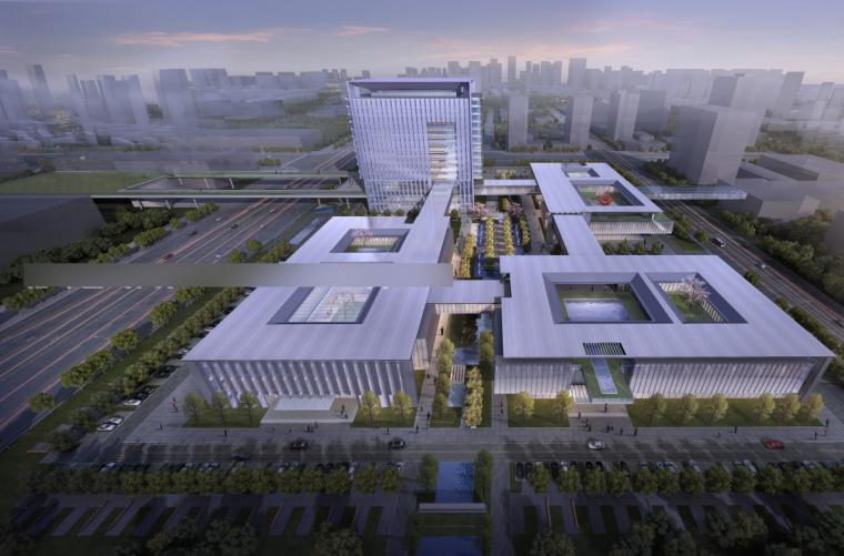 [安徽]合肥新站高新区北航合肥科学城投标方案模型