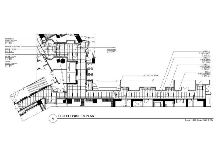 [上海]ARA-上海浦东嘉里酒店公共区域装修CAD图纸