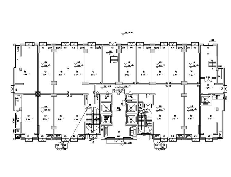 成都高层公共建筑暖通设计施工图
