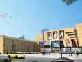 商业综合体.商场建筑外观设计案例效果图
