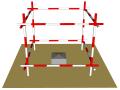 [咸阳]框架剪力墙结构商业高层住宅项目测量放线专项施工方案