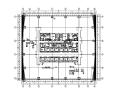 天津四季办公楼标准层给排水施工图