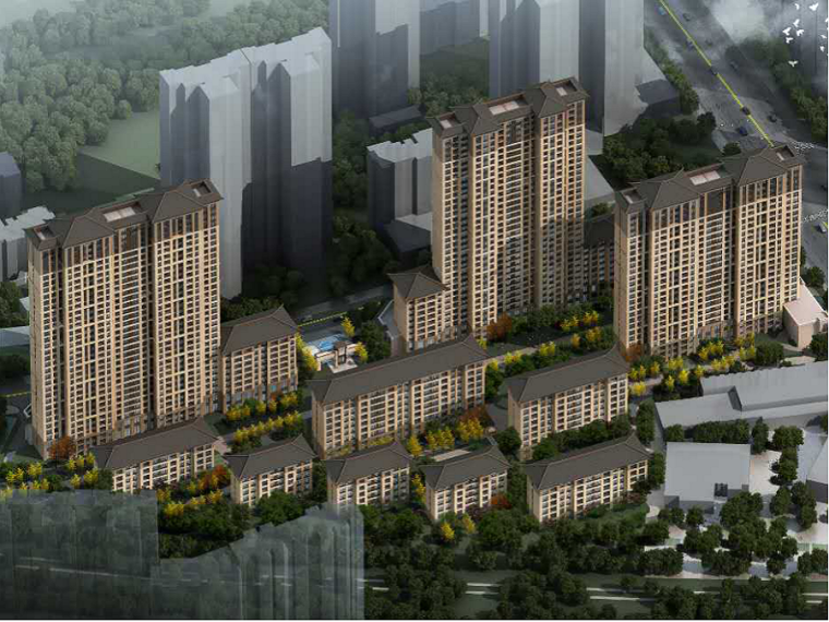[西安]高层住宅项目测量放线施工方案(图文并茂)