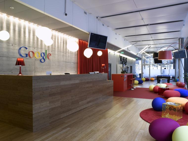 办公空间设计效果图-Google谷歌办公室合集20套