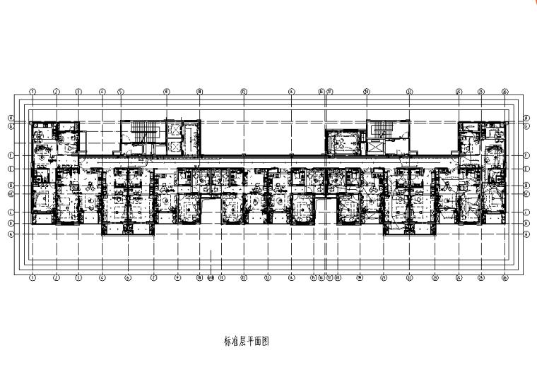 上海老年护理院及养老公寓机电设备施工图