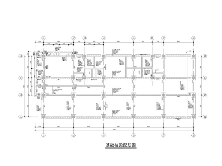 某数据中心4层框架办公楼结构施工图2013