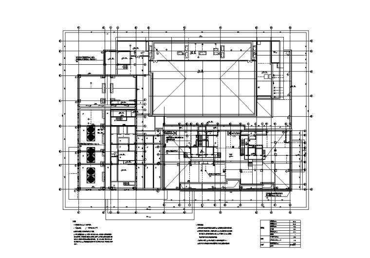 杭州酒店及公寓项目塔楼电气施工图