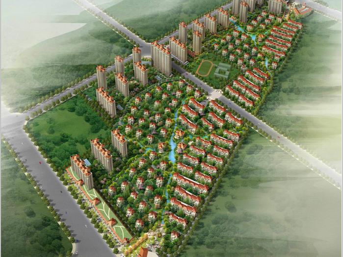 [江苏]佳兆业江阴居住区项目规划与建筑设计方案文本(JPG,100页)