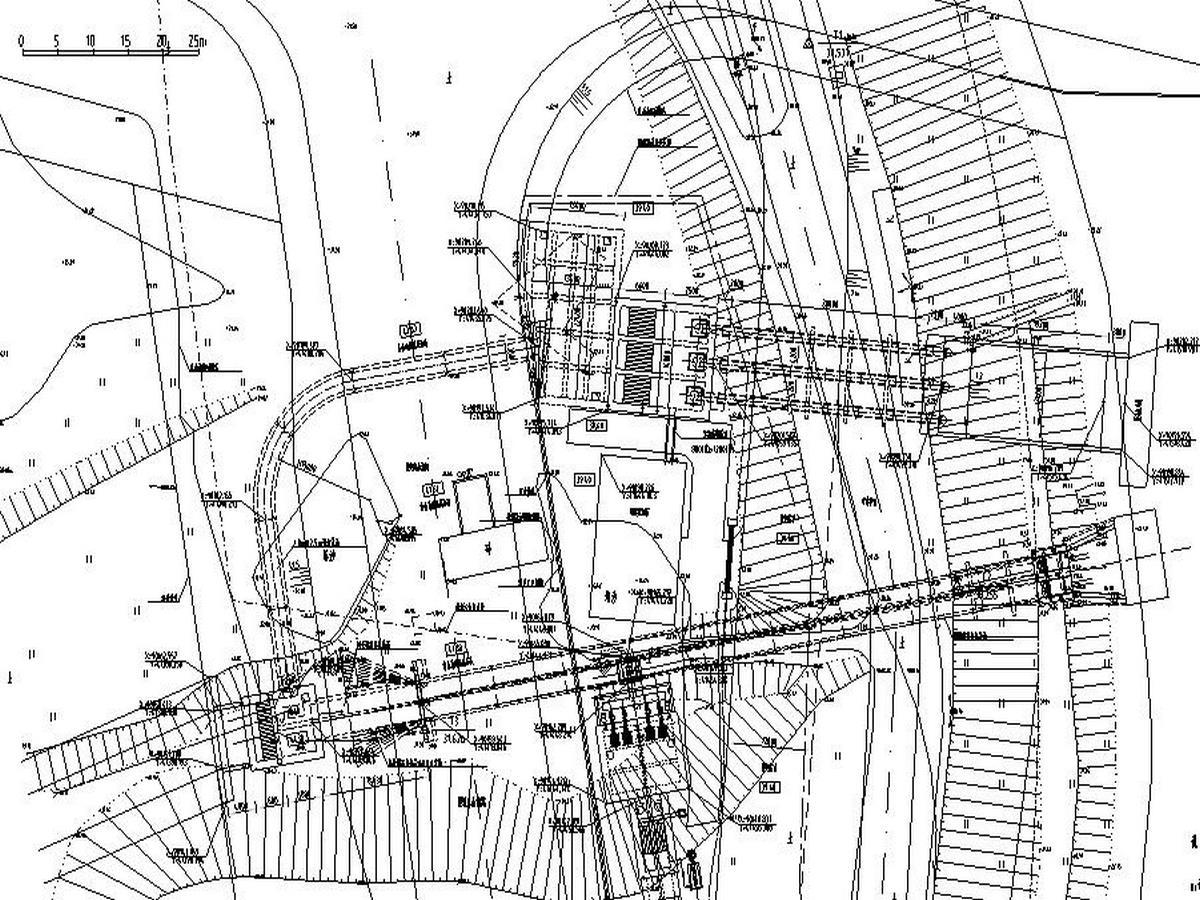 [長沙]雨水泵站及污水提升泵站圖紙(含招標控制價)