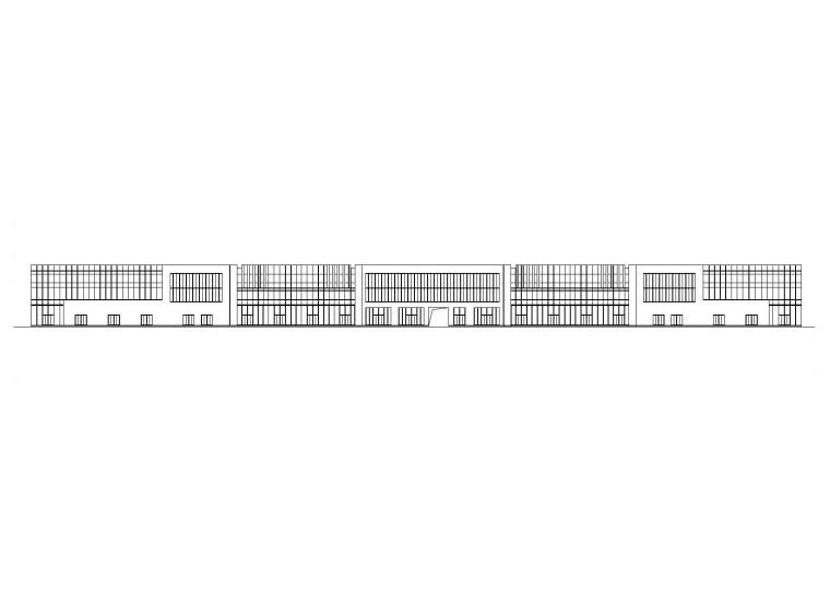 [临沂]3层沿街商业楼建筑结构施工图(2016)
