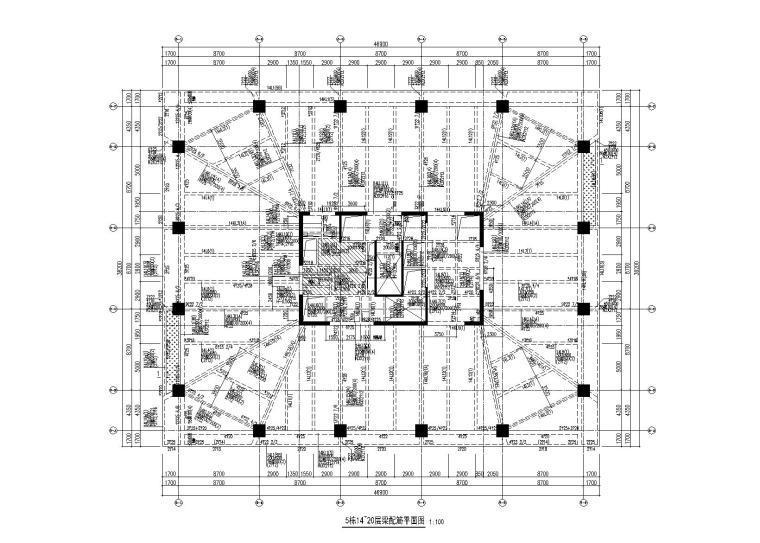 禅城绿地金融中心全部建筑施工图(建筑结构,2013)