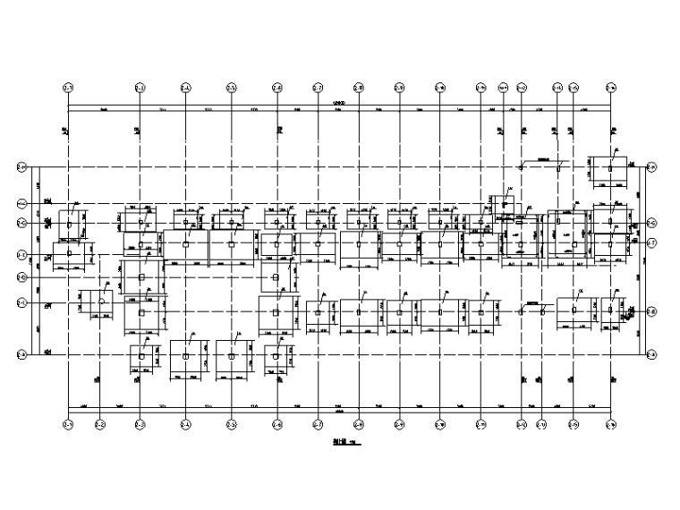 [茂名]5层框架结构教学楼结构施工图(2013)