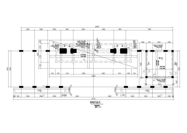 园林建筑结构施工图