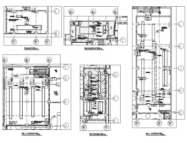 [大院出品]大型购物广场标准版研发设计全套施工图