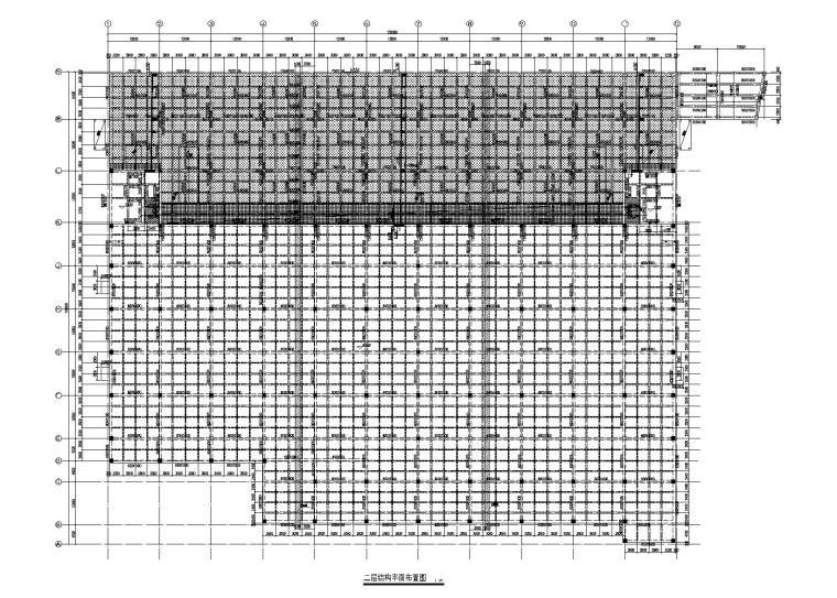 物流项目仓储中心全套施工图2017_排架结构