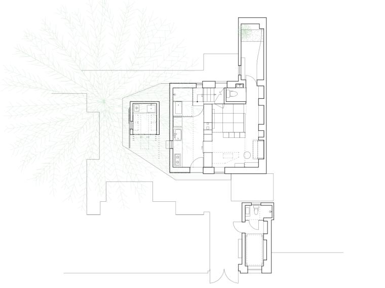 [北京]青山周平-南锣鼓巷四合院改造项目设计图纸