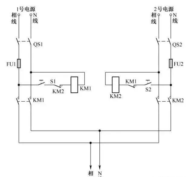 15个常见的电工中级电路图,会操作12个才算得上是电工老师傅!_1