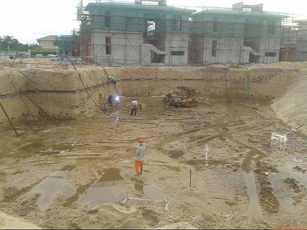[天津]污水处理站基坑降水施工方案