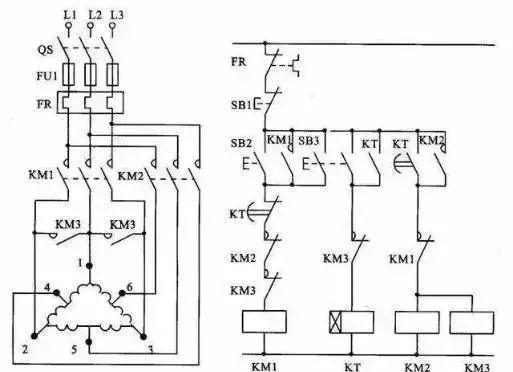 15个常见的电工中级电路图,会操作12个才算得上是电工老师傅!_10