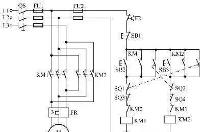15个常见的电工中级电路图,会操作12个才算得上是电工老师傅!_4